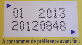 TRES IMPORTANT Date limite de consommation (DLC), de durabilité minimale (DDM), de congélation